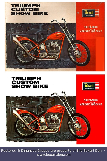 Revell Triumph Before & After