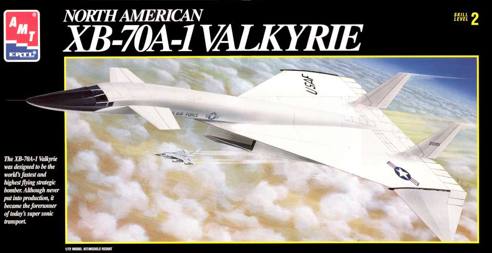 AMT NAA XB-70A-1 Valkyrie