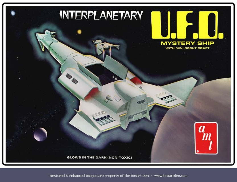 AMT UFO Interplanetary Mystery Ship