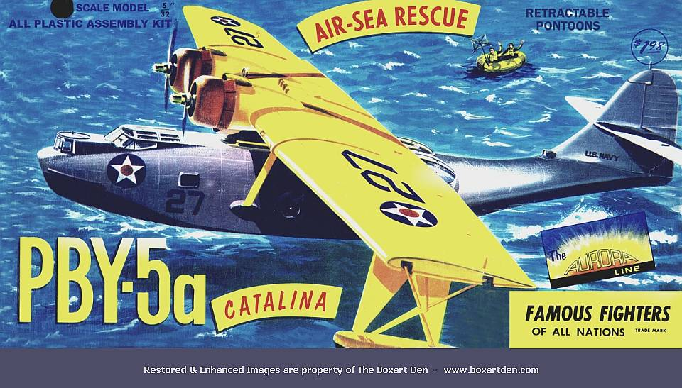 Aurora Consolidated PBY-5A Catalina First Release
