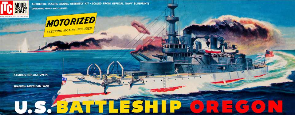 ITC US Battleship Oregon motorized