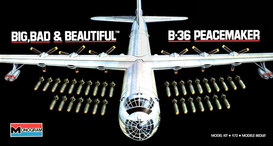 Monogram Convair B-36 Peacemaker BB&B
