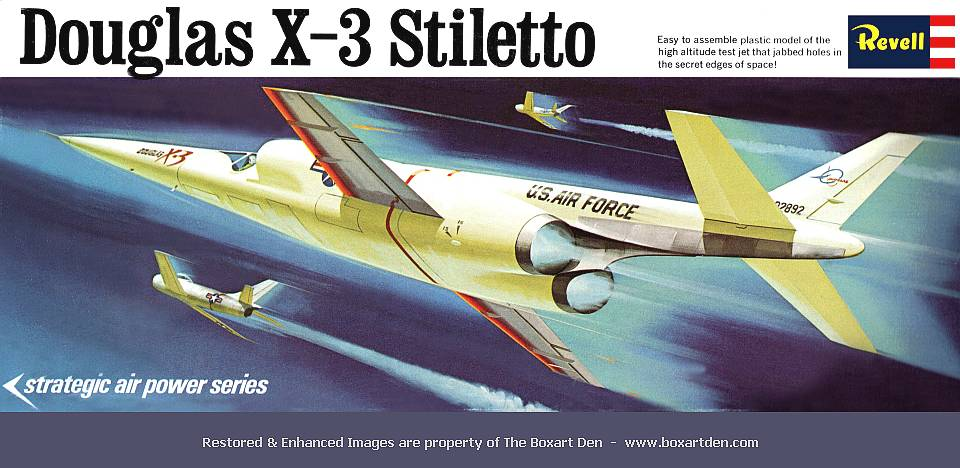 Revell Douglas X-3 Stiletto SAP