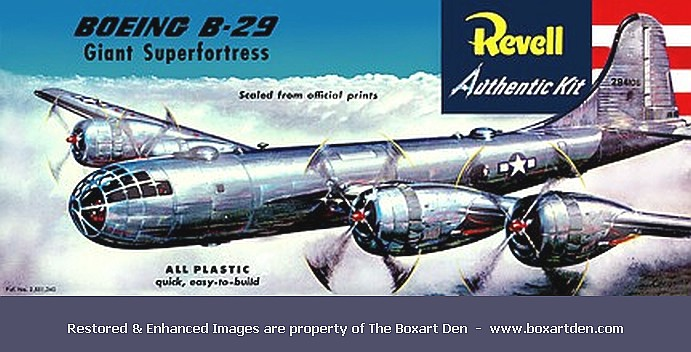 Revell Boeing B-29 Super Fortress first release