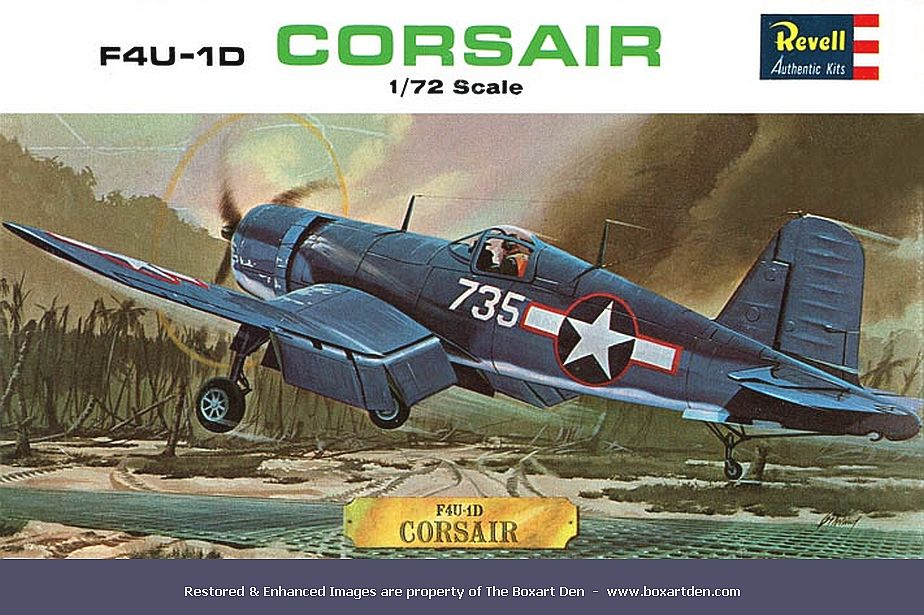 Revell Vought F4U-1D Corsair