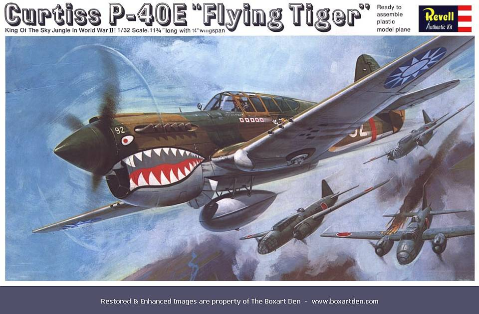 "Revell Curtiss P-40E ""Flying Tiger"""