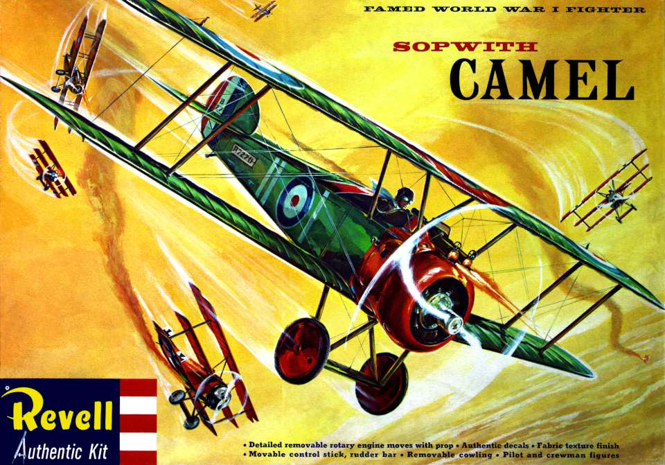 Revell Sopwith Camel first release