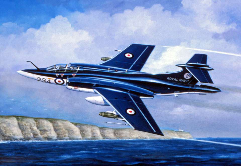Blackburn Buccaneer by Mike Machat-960