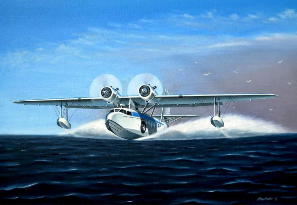 Sikorsky S-43 'Baby Clipper' by Mike Machat-960
