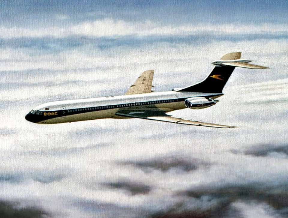 Vickers Super VC-10 BOAC by Mike Machat-960