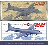 "F.R. Pastorius Douglas  DC-6B ""Before & After"""