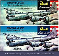 Revell B-29 Before & After