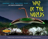 Aurora Martian War Machine War Of The Worlds FK