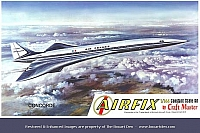 Airfix Craftmaster Concorde Air France