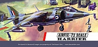 Airfix Hawker Harrier T3