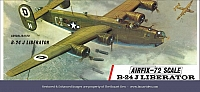 Airfix Consolidated B-24J Liberator T3
