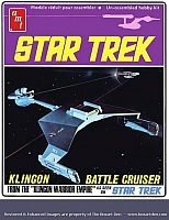 AMT Klingon Battle Cruiser '70s Box
