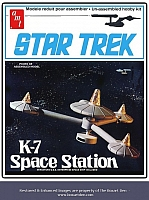 AMT Star Trek K-7 Space Station
