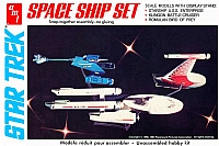 AMT Star Trek Space Ship Set