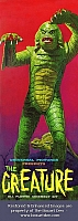 Aurora Creature From The Black Lagoon '60's Box