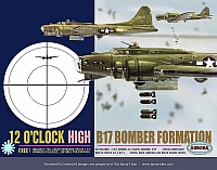 Aurora 12 0'Clock High B-17 Bomber Formation