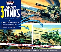 Aurora 3 Army Tanks Gift Set