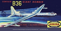 Aurora Convair B-36 Giant Bomber 2nd Release