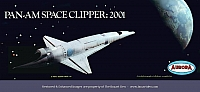 Aurora 2001 Pan Am Space Clipper '68