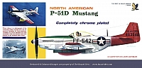Hawk NAA P-51D Mustang Plated WPB