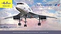 Heller Concorde Air France '70's Box