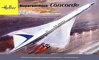 Heller Concorde Air France 1st Box