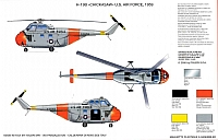 Italeri Sikorsky H-19 Chickasaw colors