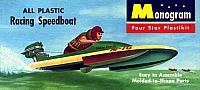 Monogram Racing Speedboat