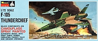 Monogram Republic F-105D Thunderchief BB Painted