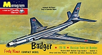 Monogram Tupolev Tu-16 Badger