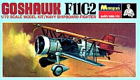 Monogram Curtiss F11C-2 Goshawk