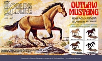 Addar World of Wildlife Outlaw Mustang