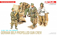 DML-Dragon German Self-Propelled Gun Crew WWII