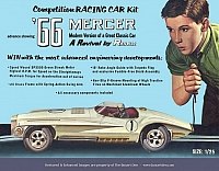 Renwal '66 Mercer Racing Car Kit