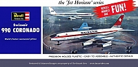 Revell Convair CV-990 Swissair Jet Horizon