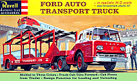 Revell Ford Auto Transport Truck
