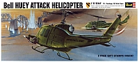Revell Bell UH-1D Huey Attack '67