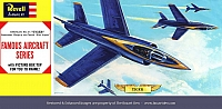Revell Grumman F11F-1 Tiger Blue Angels Famous Aircraft