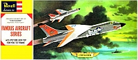 Revell Vought F8U-2N Crusader Famous Aircraft