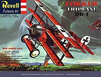 Revell Fokker DR-1 Triplane first release