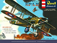 Revell Spad XIII first release