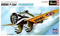 Revell-Japan Boeing P-26 Peashooter