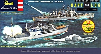 Revell Guided Missile Fleet 1st ABC Box