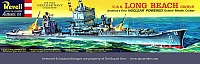 Revell USS Long Beach Early '60's Box