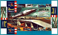 Revell Convair Atlas S 1958